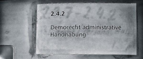 Demorecht. Foto: Hufner