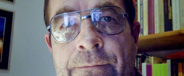 Selfie als Steuermann. Foto: Hufner