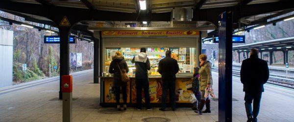 Glück am Kiosk. Foto: Hufner