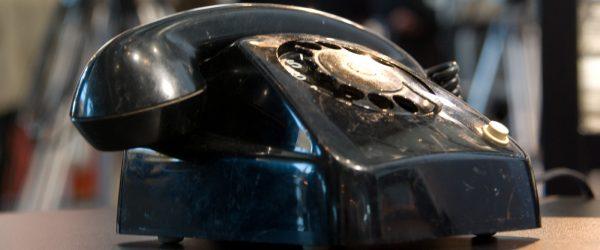 Das Telefon. Foto: Hufner