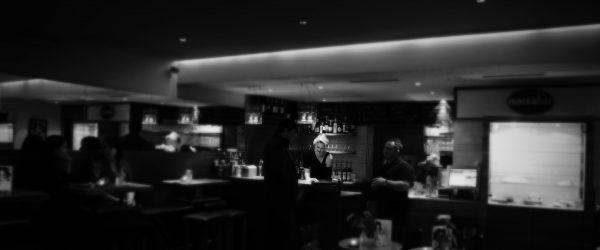 In der Bar zur Zukunft. Foto: Hufner