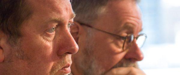 Gemeinsame Sache: Dieter Gorny und Hans Bäßler. Foto: Hufner