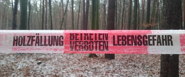 Lebensgefahr. Foto: Hufner