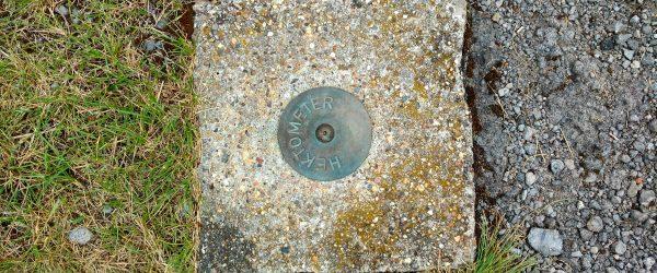 Hektometer. Foto: Hufner