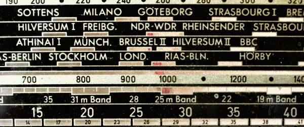 Rundfunk. Foto: Hufner