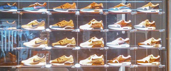 Schuhfenster in Regensburg. Foto: Hufner