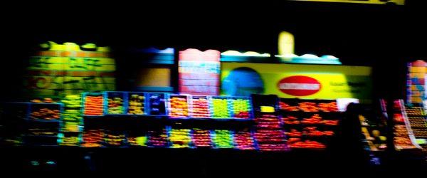 Berlin Einkausstand. Foto: Hufner