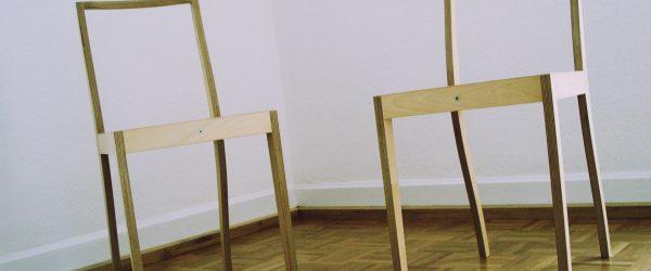 Stuhl und Stuhl. Foto: Hufner