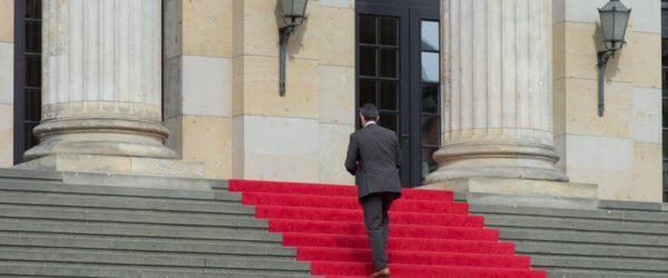 Auf der Treppe allein. Foto: Hufner