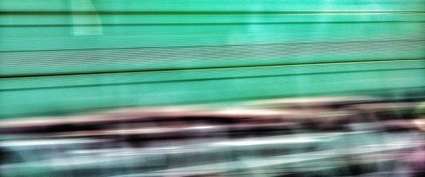 Aus dem fahrenden Zug. Foto: Hufner
