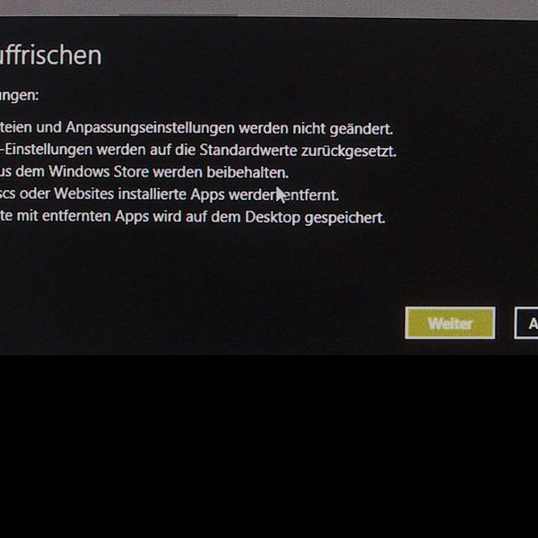 Apps und Programme. Bildschirmfoto. Hufner