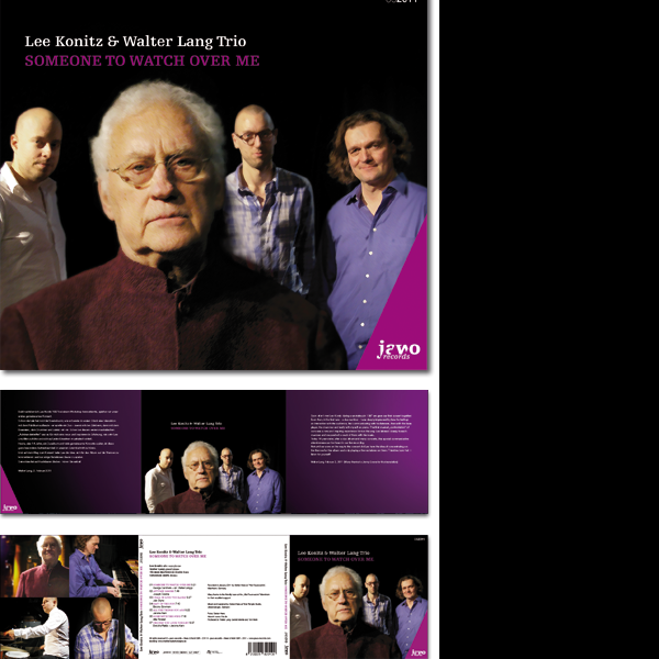 Lee Konitz & Walter Lang Trio: Somewhere to watch over me, Jawo Records 010,
