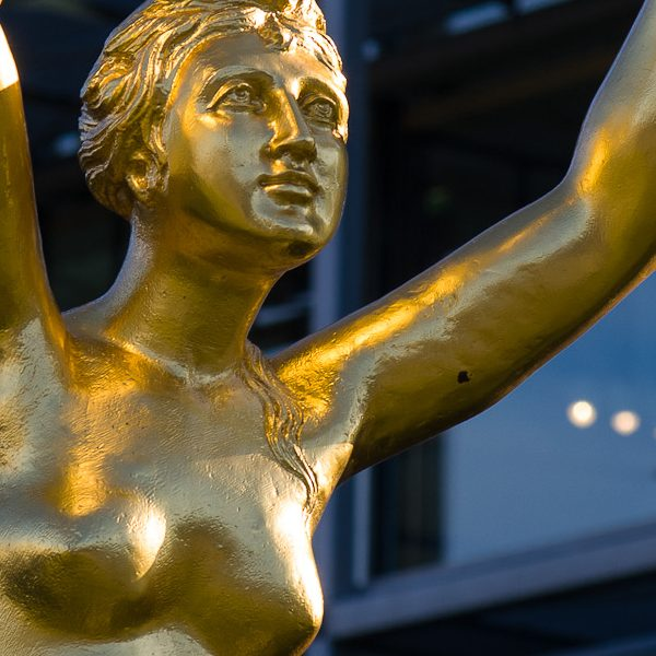 Tanz ums goldene Urheberkalb. Foto: Hufner